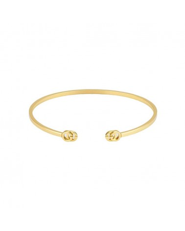 GUCCI Rigid bracelet with GG Running in yellow gold