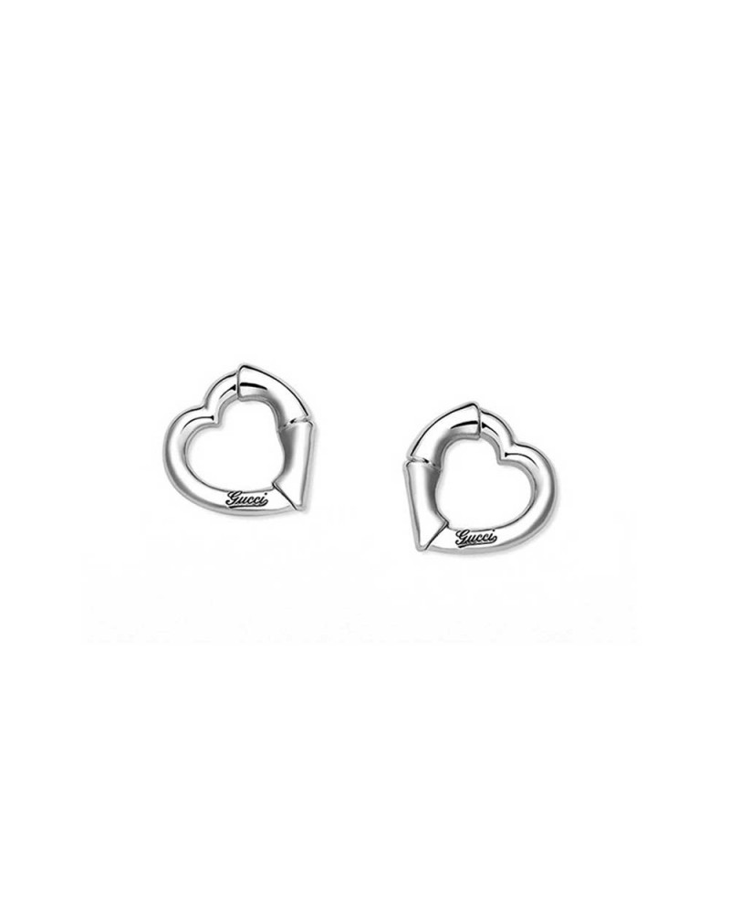 GUCCI Bamboo earrings in silver