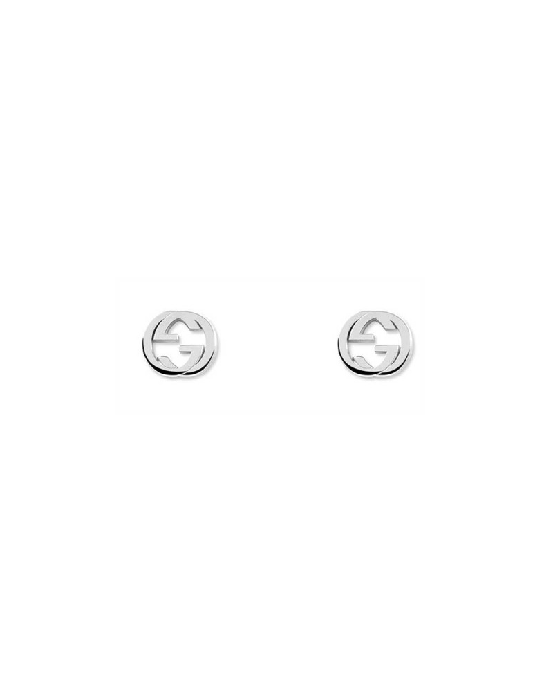GUCCI Silver earrings with Double G