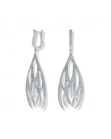 CAPECE GIOIELLIERI Fire ice pendant earrings