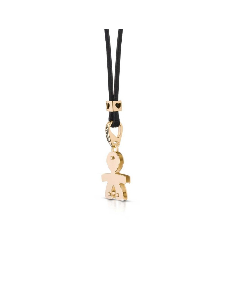 LE BEBE' Tiddler male pendant in yellow gold