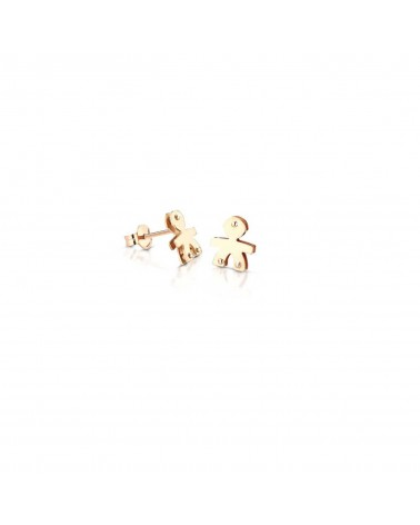 CLASSICS MALE EARRINGS YELLOW GOLD