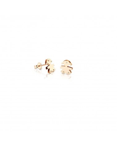 CLASSIC FEMALE EARRINGS YELLOW GOLD