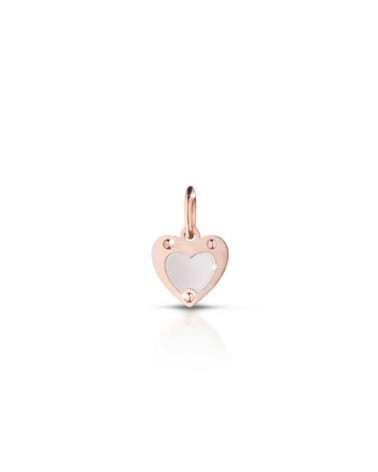 SILVER HEART CHARM LOCK YOUR LOVE