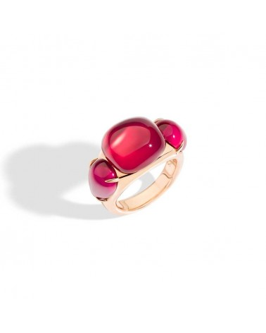 POMELLATO ring ROUGE PASSION