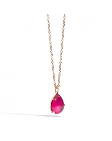 POMELLATO pendant with ROUGE PASSION chain
