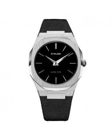 D1MILANO ULTRA THIN NYLON 40 MM SILVER