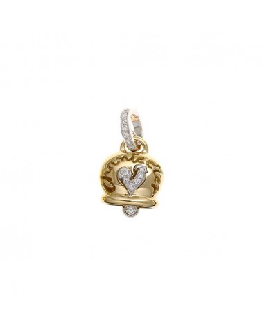 CHANTECLER Medium pendant in yellow gold