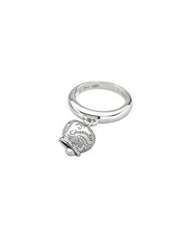 CHANTECLER Small ring in white gold