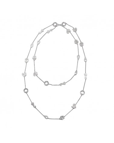 CHANTECLER Long necklace with symbols