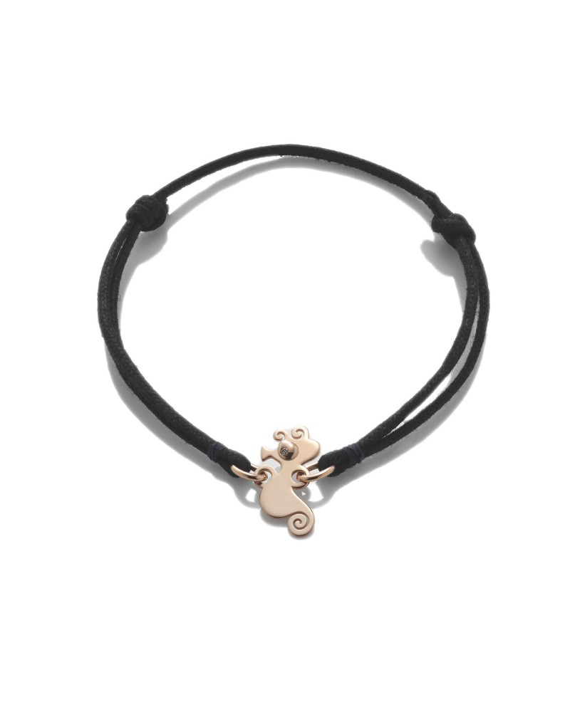CHANTECLER Small horse bracelet in rose gold