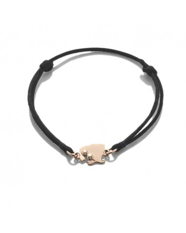 CHANTECLER Small hermit crab bracelet in rose gold