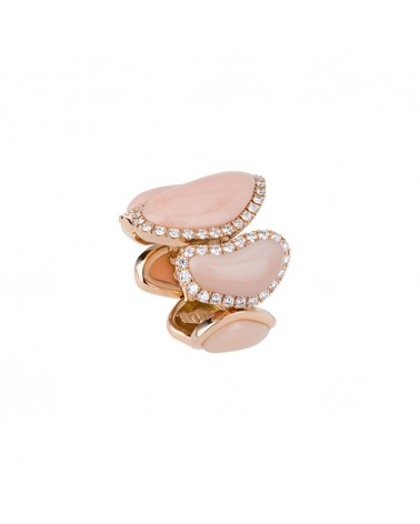 CHANTECLER Band ring in rose gold