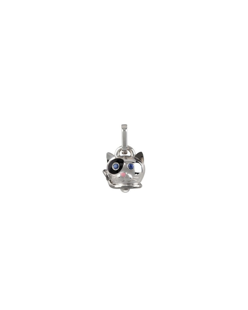 CHANTECLER Small cat pendant in silver