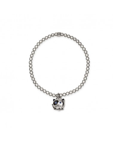 CHANTECLER Micro cat bracelet in silver