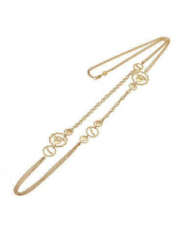 CHANTECLER Yellow gold necklace