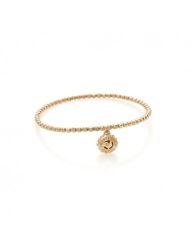 CHANTECLER Suamèm bracelet with micro logo in rose gold