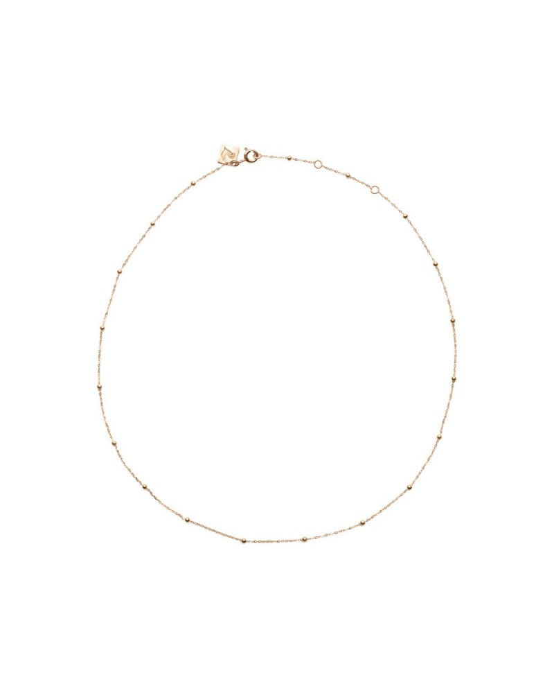 CHANTECLER Rose gold necklace