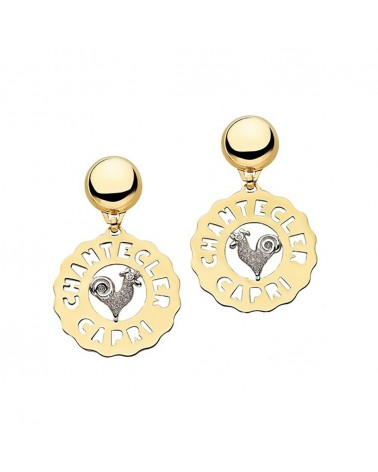 CHANTECLER Rooster medium earrings