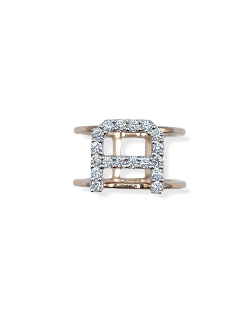 CAPECE GIOIELLIERI Ring LETTERS Collection Mod. A