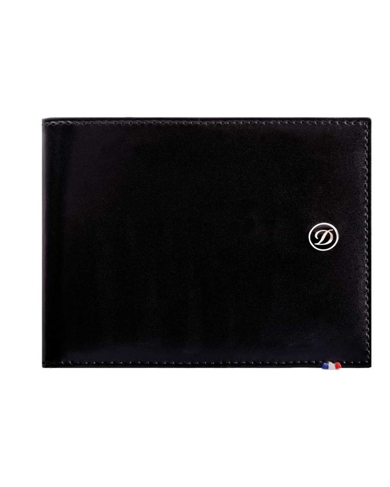 DUPONT BILLFOLD 6 CREDIT CARDS, LINE D LEATHER