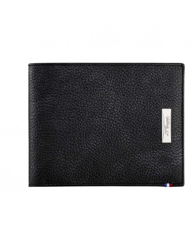 DUPONT BILLFOLD 8CC, LINE D SOFT DIAMOND GRAINED LEATHER