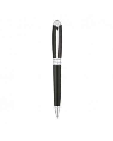 PENCIL LINE D MEDIUM BLACK-SILVER