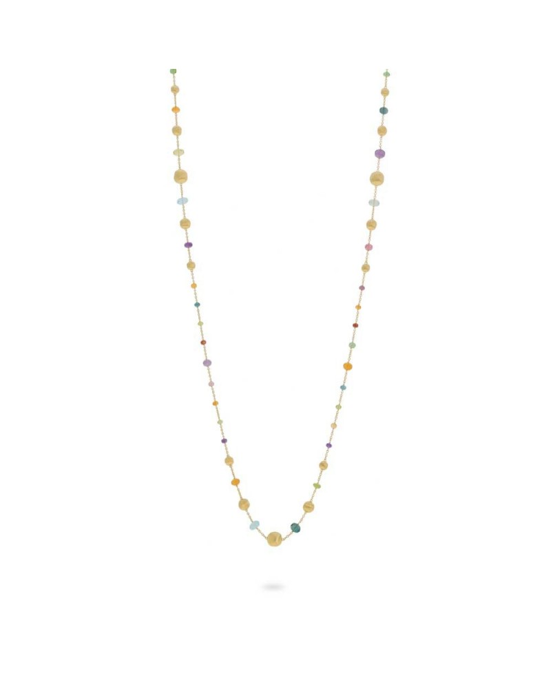 MARCO BICEGO Necklace AFRICA collection 92 cm.