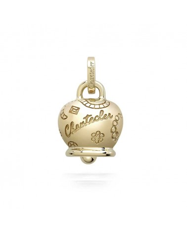 CHANTECLER Large Suamèm Bell in 9 Kt yellow gold