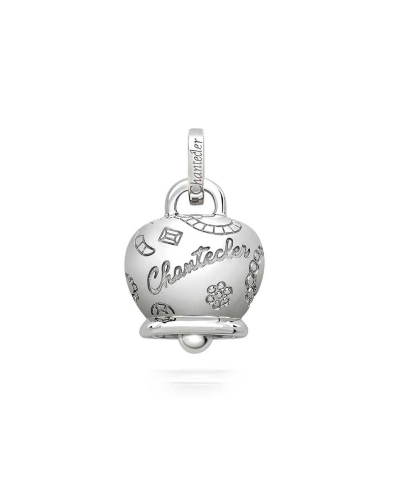 CHANTECLER Large Suamèm Bell in 9 Kt white gold
