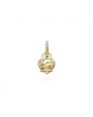 CHANTECLER 9 Kt yellow gold micro Suamèm bell