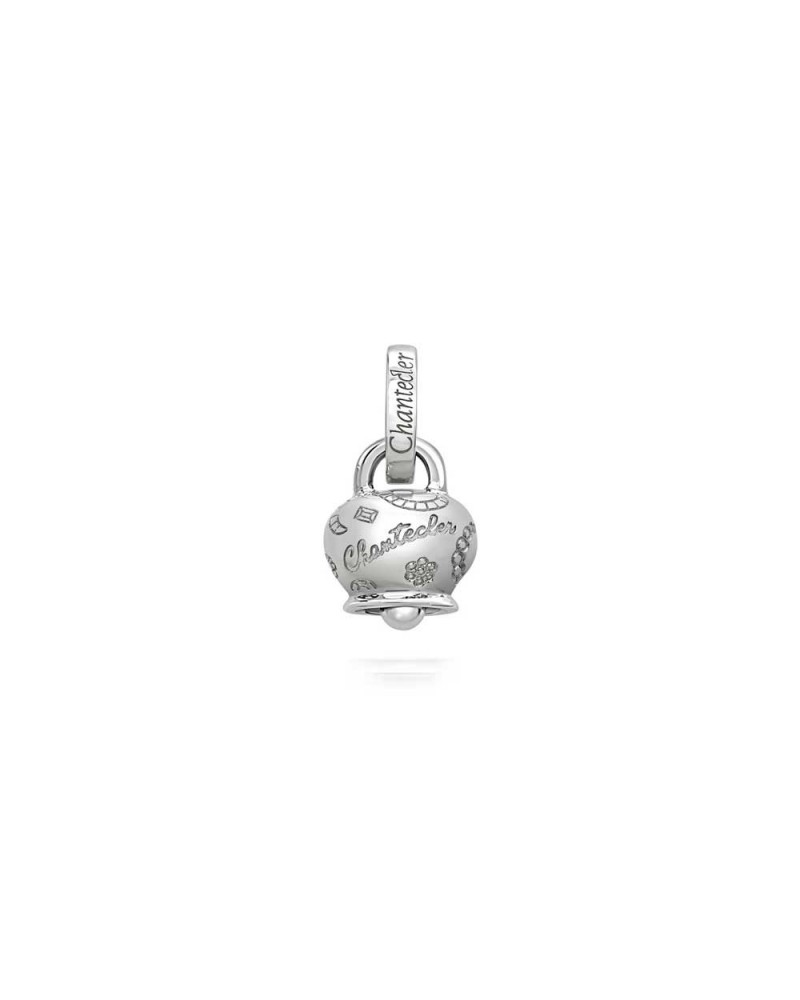 CHANTECLER Suamèm micro bell in 9 Kt white gold