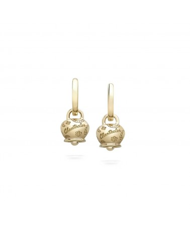 CHANTECLER 9 Kt yellow gold micro Campanella Suamèm earrings