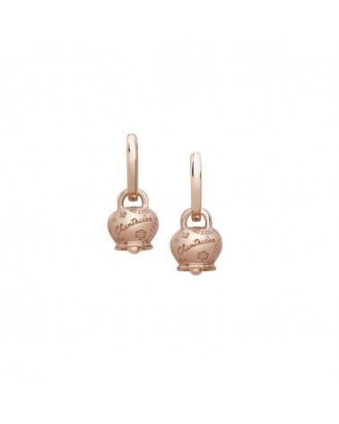 CHANTECLER Campanella Suamèm micro earrings in 9 Kt rose gold
