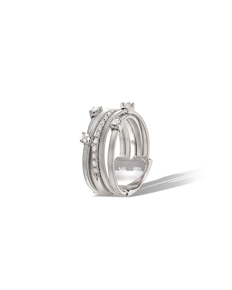 MARCO BICEGO GOA collection ring with diamonds