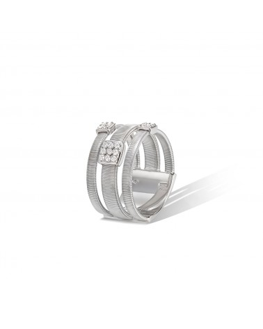 MARCO BICEGO MASAI collection ring with diamonds