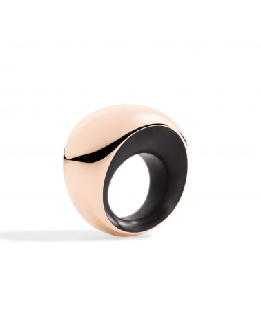 VHERNIER Ring Pirouette 18Kt. Rose Gold