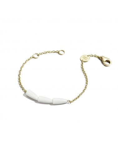 VHERNIER Mini Calla Bracelet 18Kt. Yellow Gold