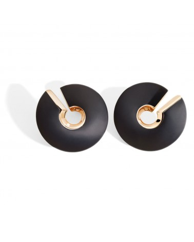VHERNIER Medium Verso Earrings 18Kt. Rose Gold