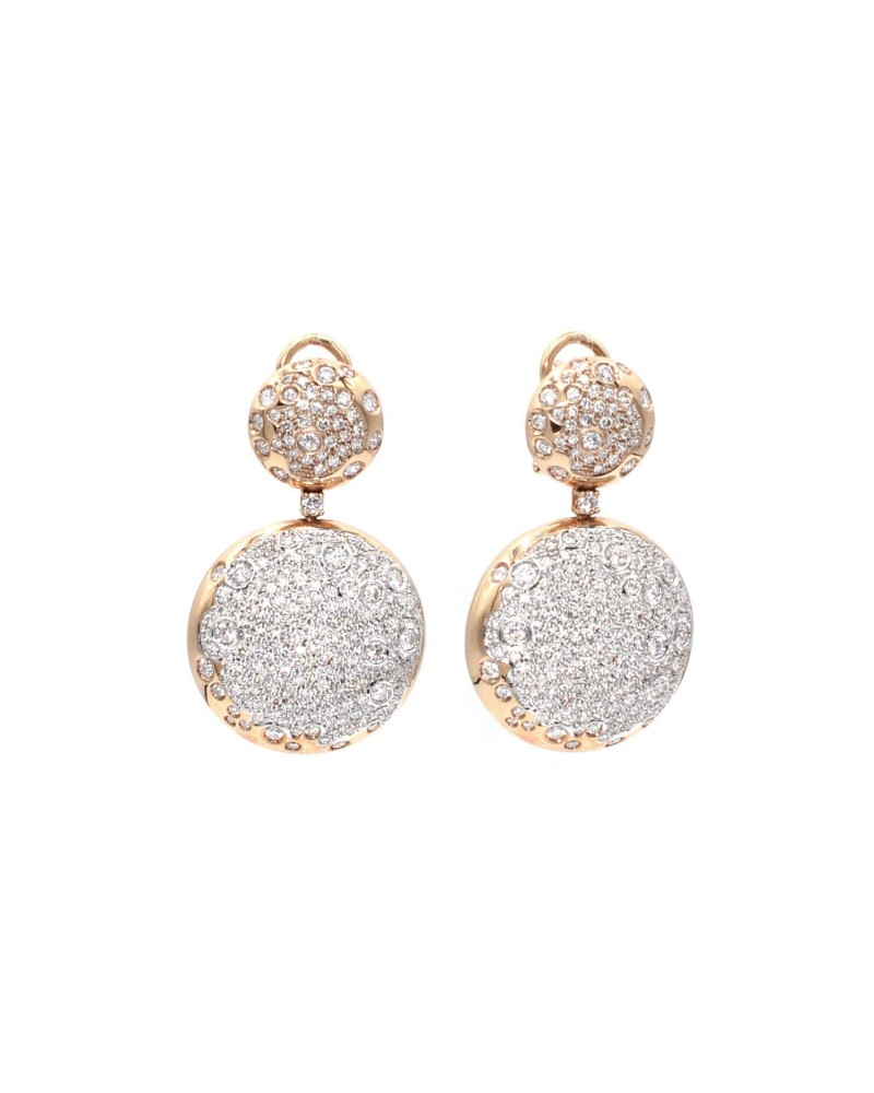 CAPECE GIOIELLIERI pavè earrings cod. 014716