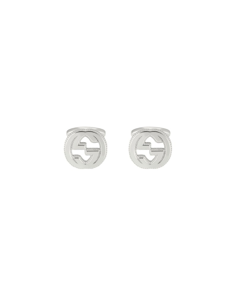 GUCCI Cufflinks in silver with GG detail