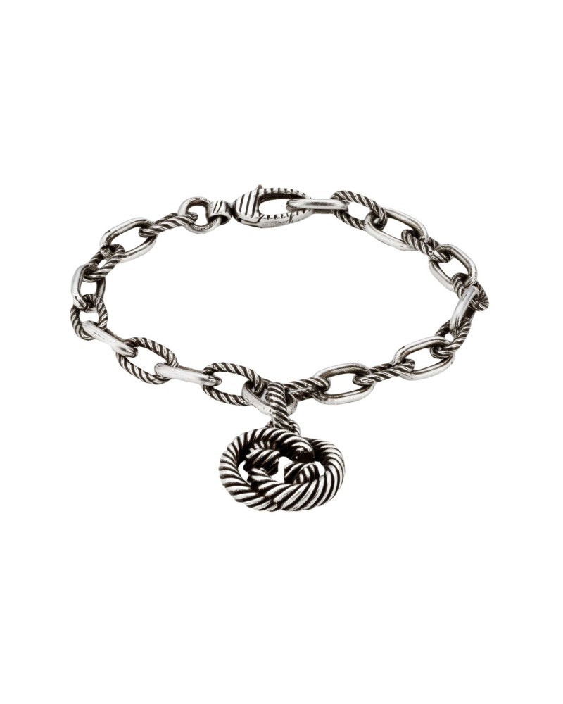 GUCCI Silver bracelet with GG