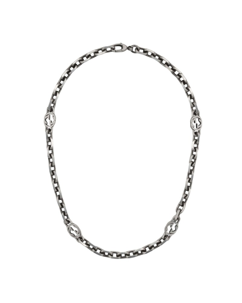 GUCCI Silver choker with GG