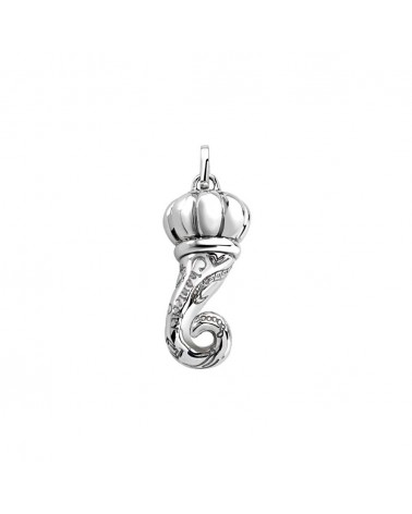 CHANTECLER Small pendant in white gold