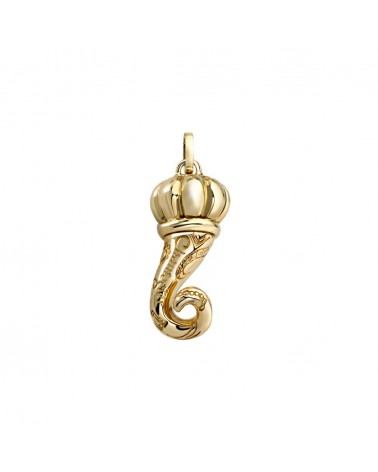 CHANTECLER Small pendant in yellow gold