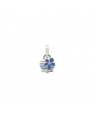 "CHANTECLER Micro Campanella charm ""forget-me-not"""
