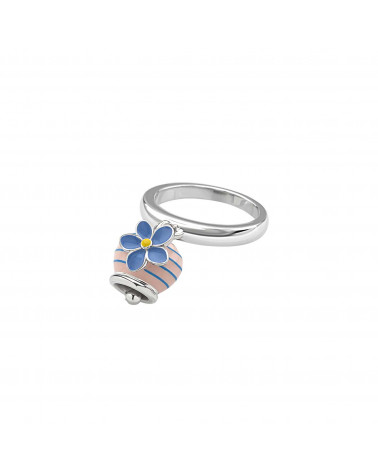 "CHANTECLER Micro Campanella ring ""forget-me-not"""