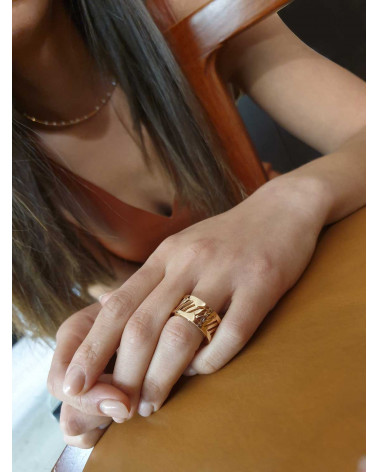 CAPECE GIOIELLIERI BEABLE pink ring