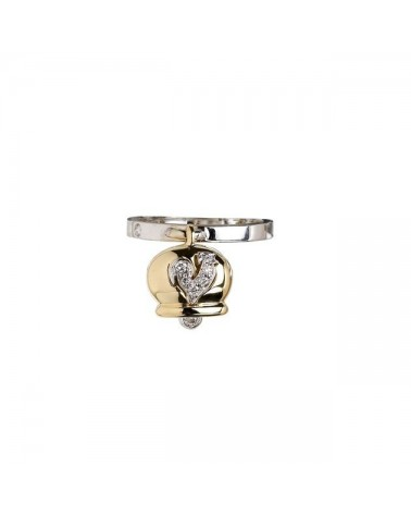 CHANTECLER Ring in yellow and white gold