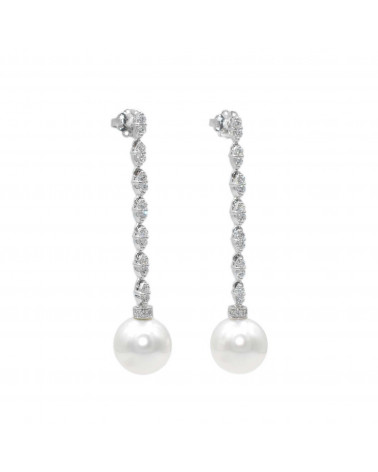 CAPECE GIOIELLIERI Earrings with Australian pearls 12 mm.